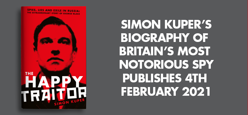 HAPPY TRAITOR SIMON KUPER BANNER